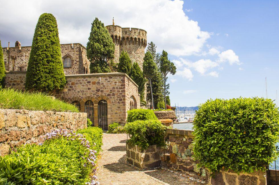 Castle, Mandelieu-La Napoule, The French Riviera, France