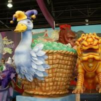 Megafloat, Blaine Kern's Mardi Gras World at Kern Studios, New Orleans, Louisiana, USA