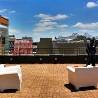 Rooftop, Ogden Museum of Southern Art, New Orleans, Louisiana, USA