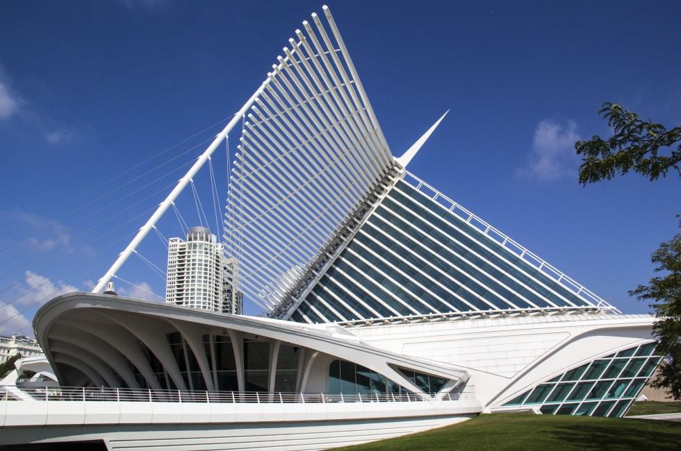 Milwaukee Art Museum, Milwaukee, Wisconsin, USA