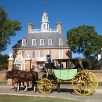 Governor's Palace, Williamsburg Virginia, USA