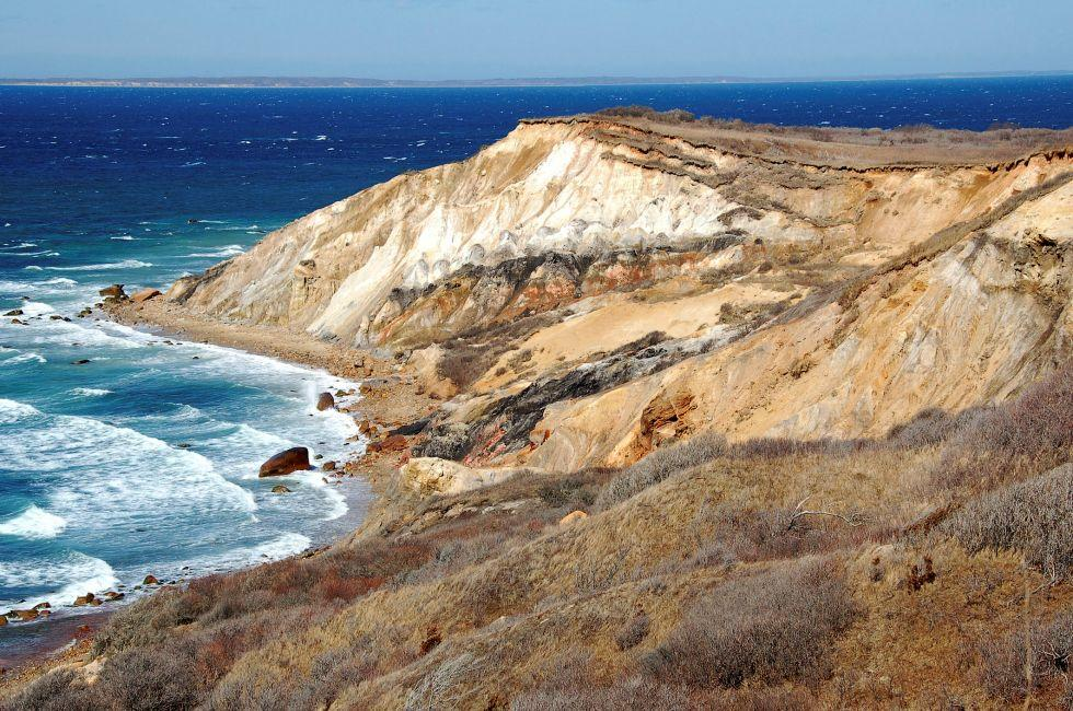 Aquinnah Cliffs, Cape Cod, Massachusetts, USA