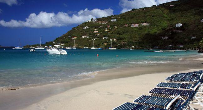 Beach, Cane Garden Bay, Tortola, British Virgin Islands, Caribbean