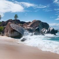 Beach, The Baths, Virgin Gorda, Tortola, British Virgin Islands