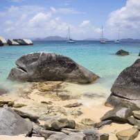 Beach, Coastline, Virgin Gorda, British Virgin Islands