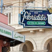 Floridita Restaurant, Havana, Cuba