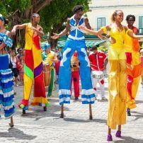Street Dancers, Havana, Cuba