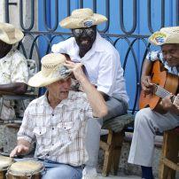 Street Musicians, Cathedral Square, Havana, Cuba