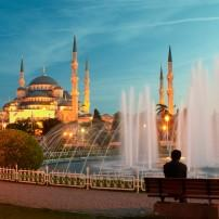 Fountain, Blue Mosque, Istanbul, Turkey