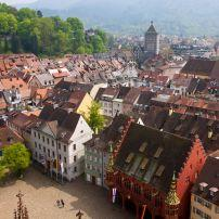 Overlook, Cityscape, Freiburg, The Black Forest, Germany