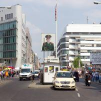 Checkpoint Charlie, Berlin, Germany; Europe, Europe.