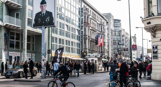 Haus am Checkpoint Charlie, Berlin, Germany, Europe.