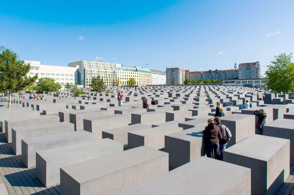 Holocaust Memorial, Mitte, Berlin, Germany, Europe.