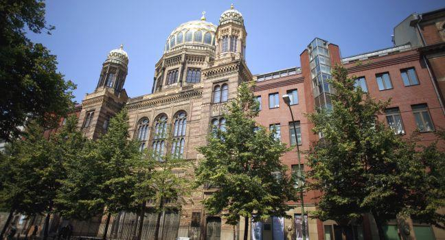 Neue Synagoge, Mitte, Berlin, Germany, Europe.