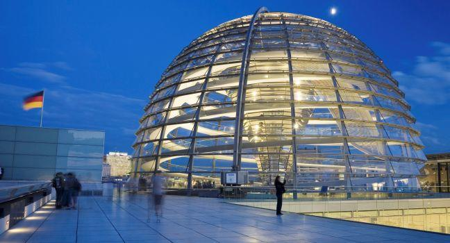 The Reichstag, Mitte, Berlin, Germany, Europe.
