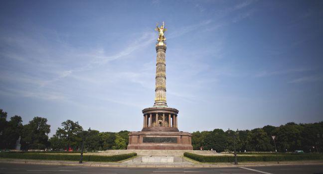 Berlin Victory Column, Siegessaule, Tiergarten, Berlin, Germany