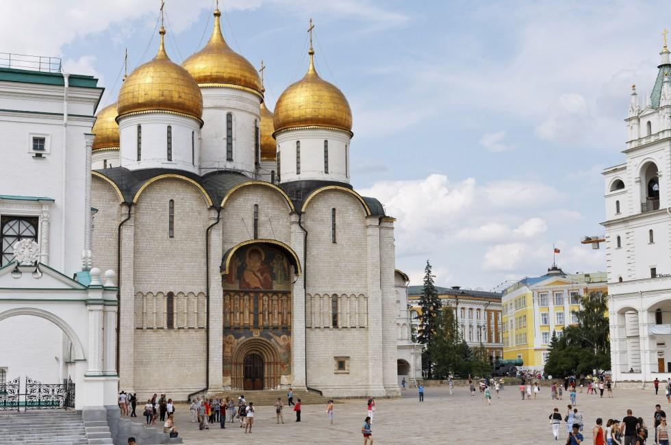 Dormition Cathedral, Sobornaya Square, Moscow, Russia