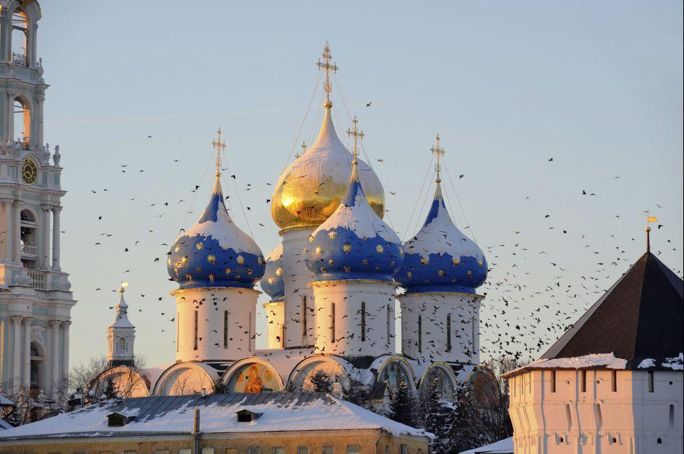 Sergiev Posad., Moscow, Russia