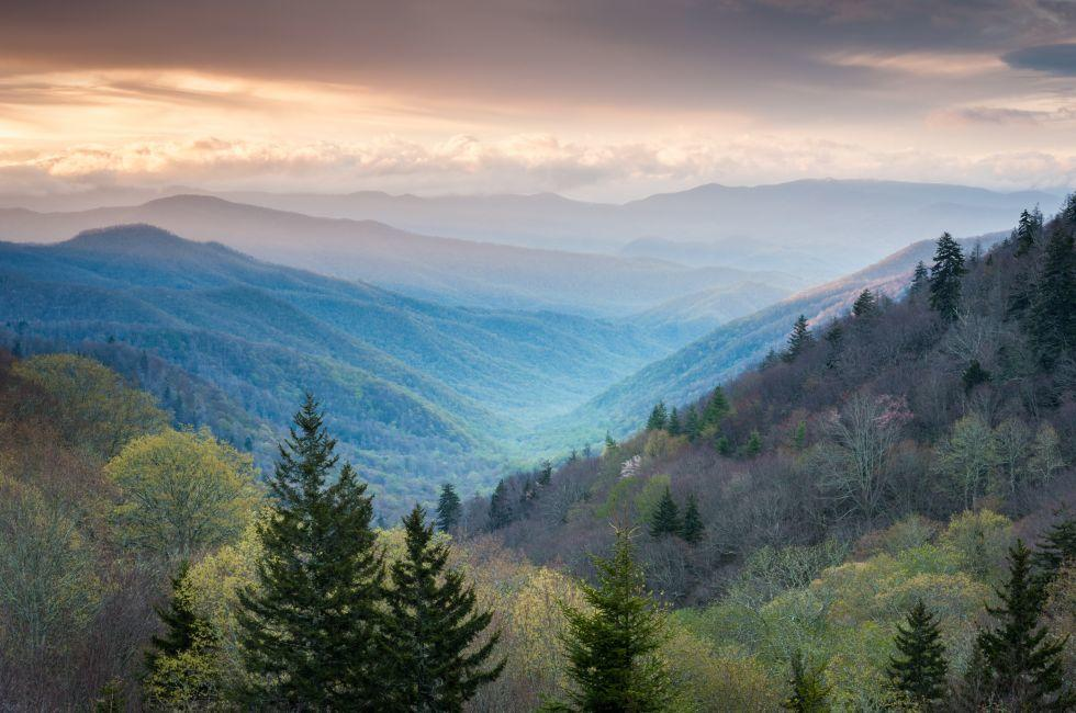 Oconaluftee Valley, Great Smoky Mountains National Park, Tennessee