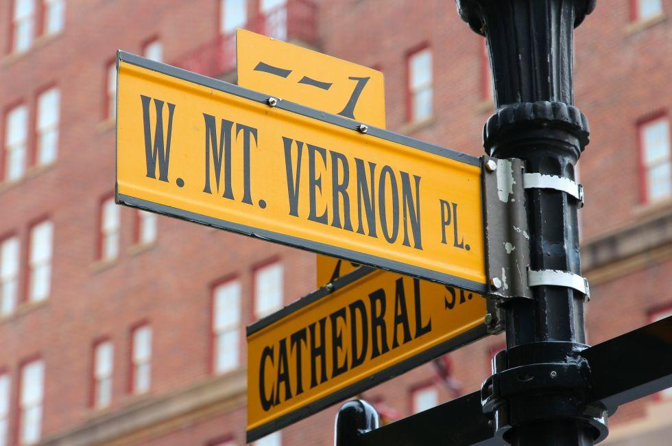 Mount Vernon Place, Baltimore, Maryland