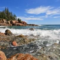 Otter Cliff, Acadia National Park, Maine, USA