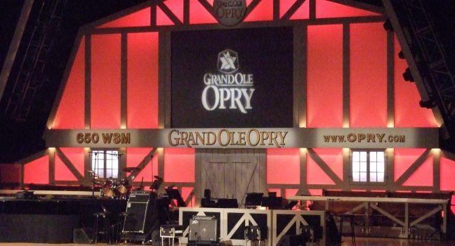 Stage, Grand Ole Opry, Nashville, Tennessee