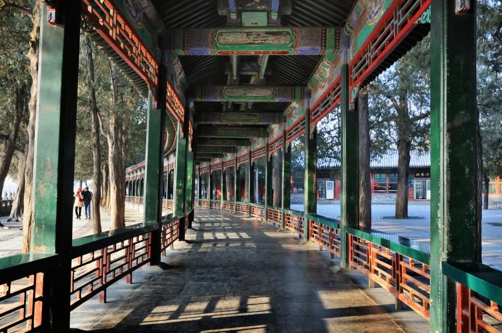 Summer Palace Promenade, Haidian District, Beijing, China