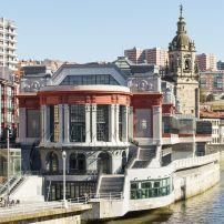 Mercado de la Ribera, Bilbao, Bizkaia, Basque Country, Spain