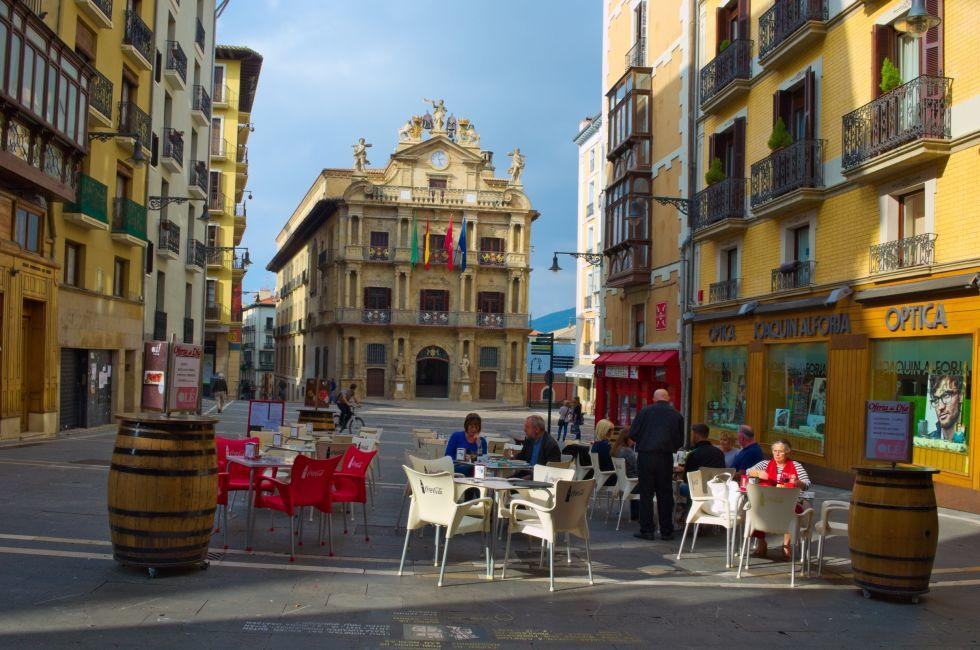 Restaurant, Pamplona, Spain