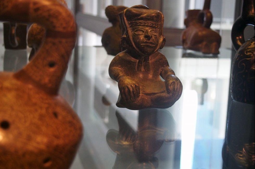 Artifact, Chilean Museum of Pre Columbian Art, Santiago, Chile