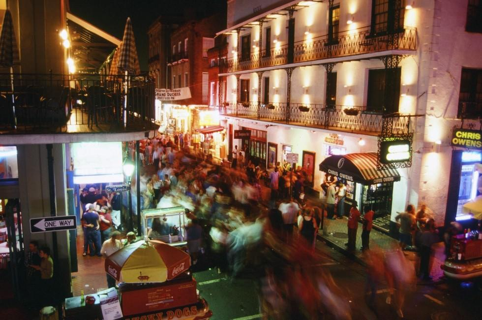 Nightlife, French Quarter, New Orleans, Louisiana, USA
