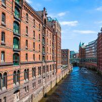 Speicherstadt, Hamburg, Germany, Europe.