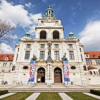 Bayerisches Nationalmuseum, Lehel, Munich, Germany, Europe.
