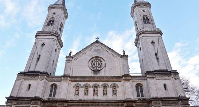 Ludwigskirche, Maxvorstadt, Schwabing and Maxvorstadt, Munich, Germany, Europe.