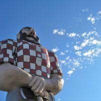 Paul Bunyan Statue, North Portland, Portland, Oregon, USA