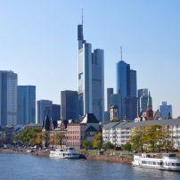 Boats, River, Frankfurt-am-Main, Germany