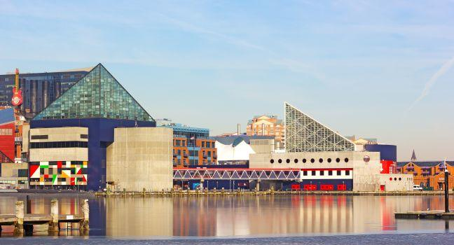National Aquarium, Inner Harbor Pier, Baltimore, Maryland