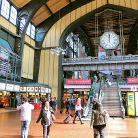 Hamburg Hauptbahnhof, Altstadt, Hamburg, Germany, Europe.