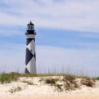 Lighthouse, Cape Lookout National Seashore, North Carolina