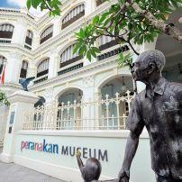 Statue, Peranakan Museum, Orchard, Singapore, Asia.