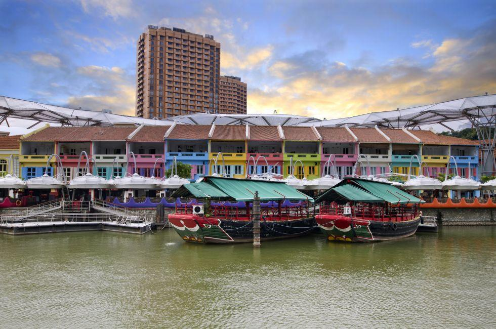 Waterfront, Clark Quay, SIngapore RIver, Singapore,