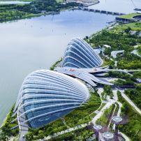 Gardens by the Bay, Marina, Singapore, Asia