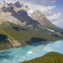 Peyto Lake, Bow Summit, Banff National Park, Alberta, Canada