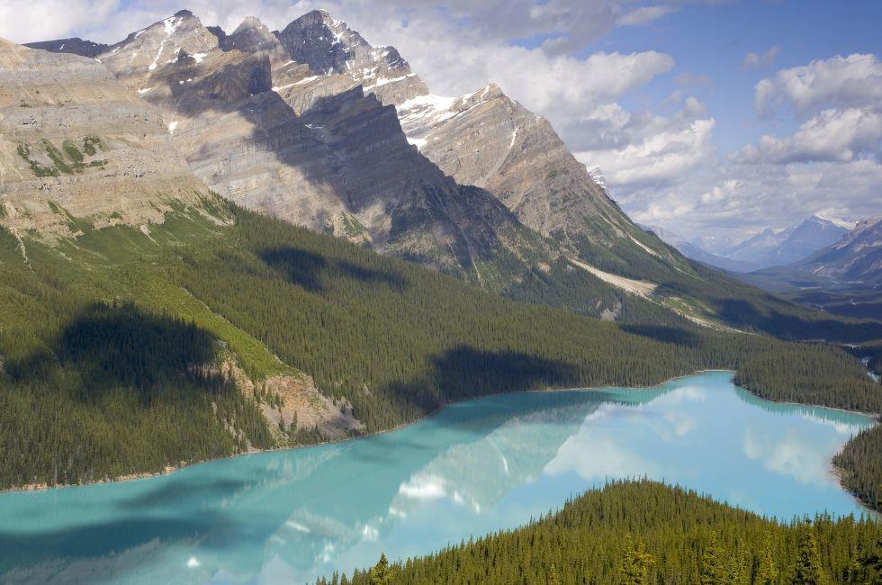 Peyto Lake, Bow Summit, Banff National Park, Alberta, Canada