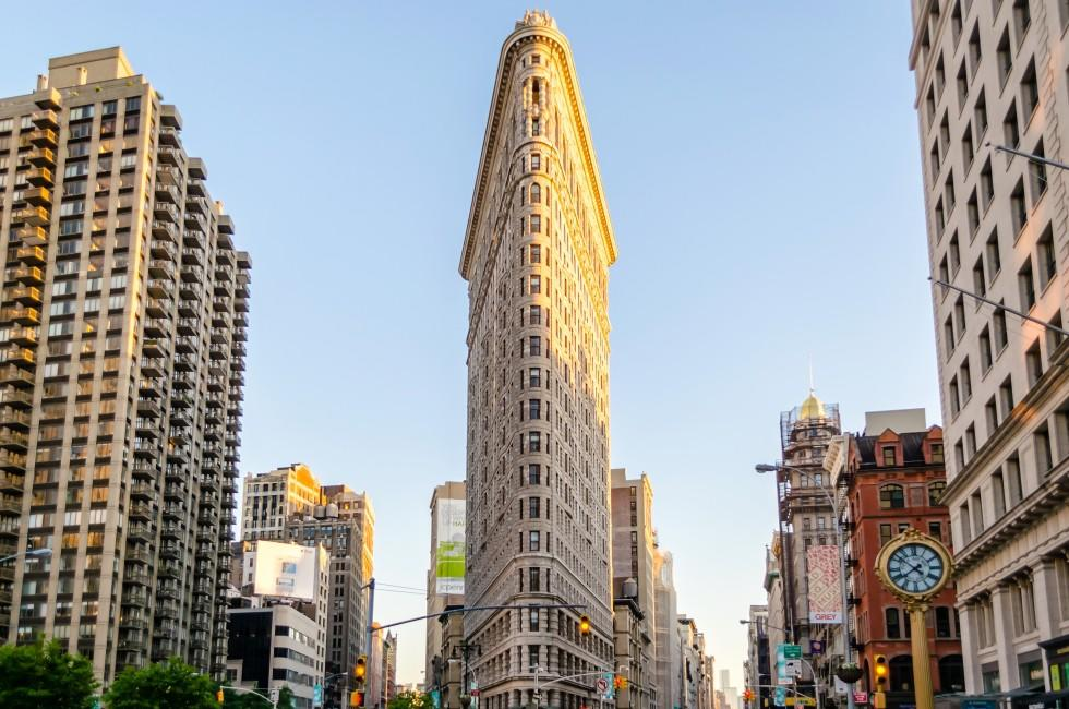 Flatiron Building, Flatiron District, New York City, New York, USA