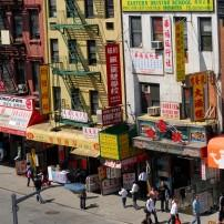 Street, Chinatown, New York City, New York, USA