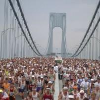 Verrazano-Narrows Bridge, New York city, Marathon, New York