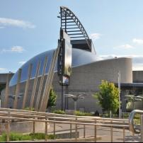 Exterior, Ontario Science Centre, Greater Toronto, Toronto, Canada
