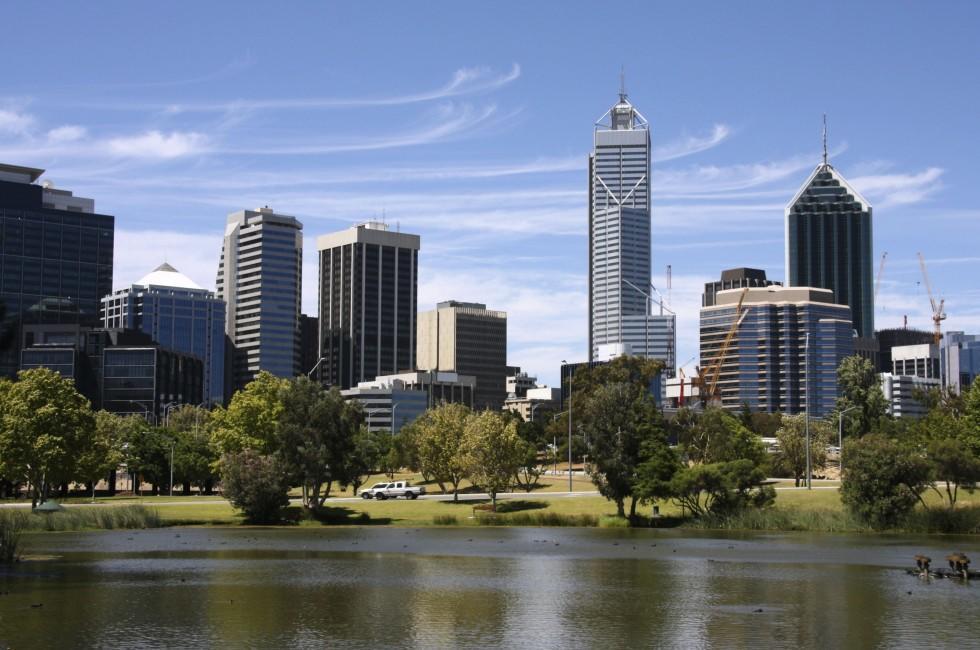 Skyline, John Oldany Park, Perth, Australia