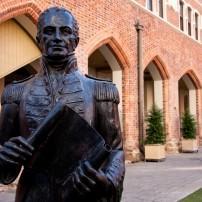 Statue, Town Hall, Perth, Australia